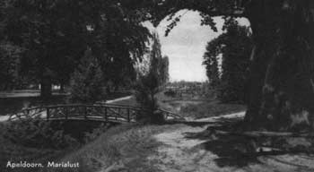 Park Marialust in 1947